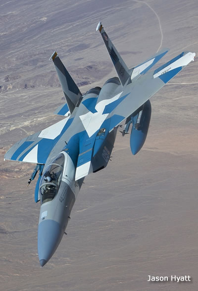 F-15C Aggressor Air-to-Air Photo