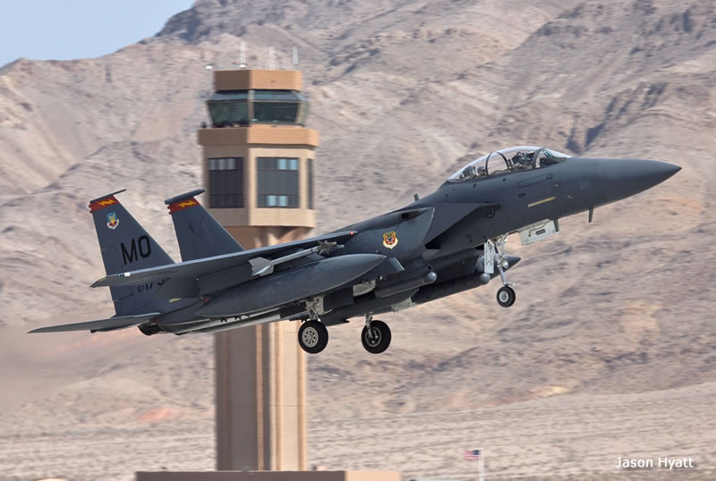 F-15E taking off at Red Flag 12-3