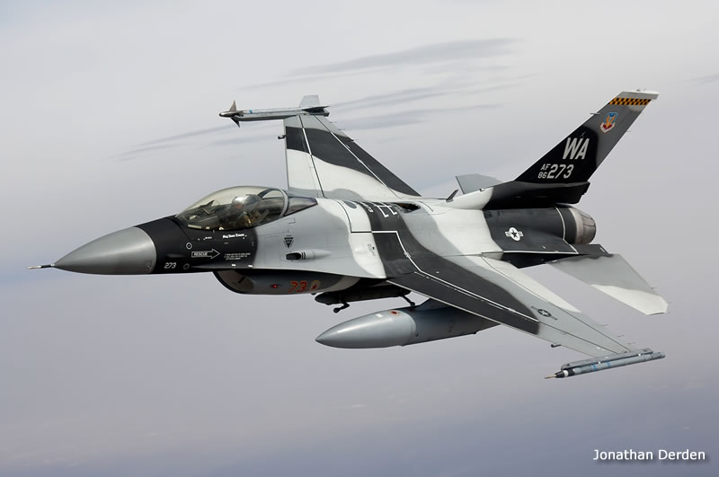 F-16C Aggressor Air-To-Air Photo