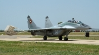 Photo ID 116507 by Thomas Ziegler - Aviation-Media. Bulgaria Air Force Mikoyan Gurevich MiG 29UB 9 51, 14