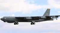 Photo ID 16151 by Tim Felce. USA Air Force Boeing B 52H Stratofortress, 60 0005