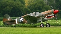 Photo ID 125239 by Wayne Dippold. Private American Airpower Heritage Flying Museum Curtiss P 40M Warhawk, NX1232N