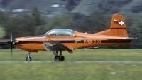 Photo ID 129970 by Joop de Groot. Switzerland Air Force Pilatus PC 7 Turbo Trainer, A 940