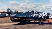 Photo ID 169662 by Robert W. Karlosky. Private Kalamazoo Aviation History Museum Grumman F9F 2 Panther, N90729