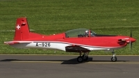 Photo ID 187404 by Thomas Ziegler - Aviation-Media. Switzerland Air Force Pilatus NCPC 7 Turbo Trainer, A 926