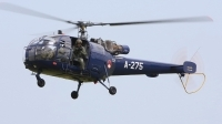 Photo ID 23525 by Mario Boeren. Netherlands Air Force Aerospatiale SA 316B Alouette III, A 275