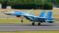 Photo ID 204312 by Lukas Kinneswenger. Ukraine Air Force Sukhoi Su 27P1M,