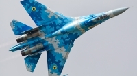 Photo ID 212912 by Marco Casaleiro. Ukraine Air Force Sukhoi Su 27P1M,