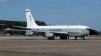 Photo ID 213882 by Henk Schuitemaker. USA Air Force Boeing RC 135W Rivet Joint 717 158, 62 4132