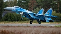 Photo ID 215491 by Rainer Mueller. Ukraine Air Force Sukhoi Su 27P1M,