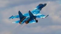 Photo ID 215806 by Alfred Koning. Ukraine Air Force Sukhoi Su 27P1M,