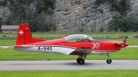 Photo ID 227067 by Sybille Petersen. Switzerland Air Force Pilatus NCPC 7 Turbo Trainer, A 940