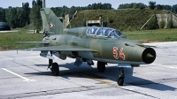 Photo ID 230224 by Gerrit Kok Collection. Hungary Air Force Mikoyan Gurevich MiG 21UM, 54