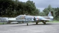 Photo ID 26944 by Joop de Groot. Netherlands Air Force Lockheed F 104G Starfighter, D 8281