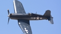 Photo ID 75686 by Nathan Havercroft. Private Private Vought F4U 1A Corsair, N83782