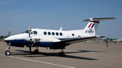 Photo ID 80005 by Bob Wood. UK Air Force Beech Super King Air B200, G RAFP