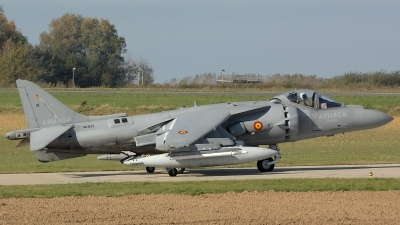 Photo ID 80237 by Peter Boschert. Spain Navy McDonnell Douglas AV 8B Harrier ll Plus, VA 1B 29