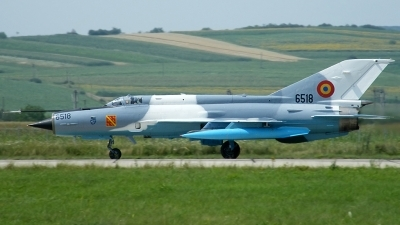 Photo ID 80145 by Horatiu Goanta. Romania Air Force Mikoyan Gurevich MiG 21MF 75 Lancer C, 6518