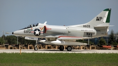 Photo ID 80648 by David F. Brown. Private Warbirds Heritage Foundation Douglas A 4C Skyhawk, N49WH