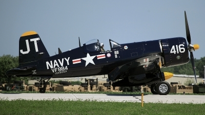 Photo ID 80550 by David F. Brown. Private Private Vought F4U 4 Corsair, N713JT
