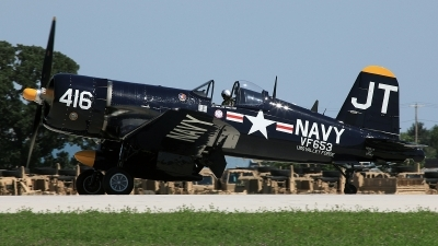 Photo ID 80549 by David F. Brown. Private Private Vought F4U 4 Corsair, N713JT