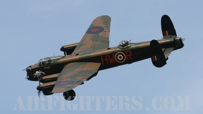 Photo ID 10093 by Craig Wise. UK Air Force Avro Lancaster B I, PA474