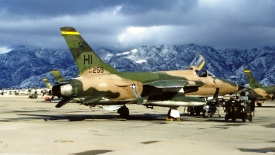 Photo ID 80337 by Gerrit Kok Collection. USA Air Force Republic F 105D Thunderchief, 62 4259