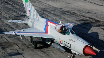 Photo ID 80459 by David F. Brown. Private Private Mikoyan Gurevich MiG 21MF, N9307
