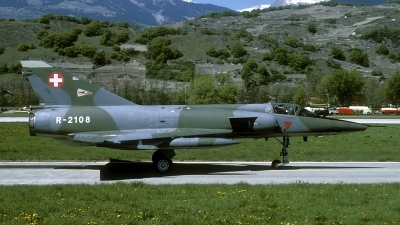 Photo ID 80571 by Joop de Groot. Switzerland Air Force Dassault Mirage IIIRS, R 2108
