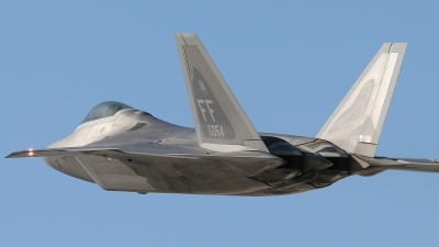 Photo ID 80991 by Ralph Duenas - Jetwash Images. USA Air Force Lockheed Martin F 22A Raptor, 03 4054