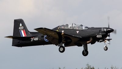 Photo ID 81139 by Carl Brent. UK Air Force Short Tucano T1, ZF489