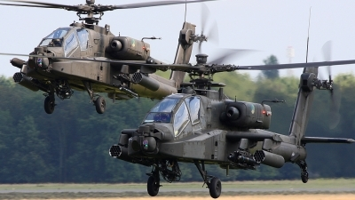 Photo ID 81032 by Robin Coenders / VORTEX-images. Netherlands Air Force Boeing AH 64D Apache, Q 30