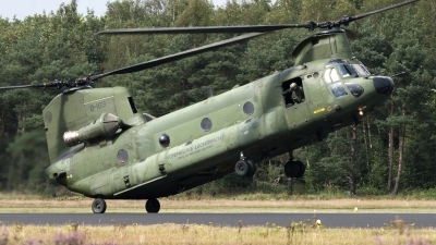 Photo ID 81074 by Niels Roman / VORTEX-images. Netherlands Air Force Boeing Vertol CH 47D Chinook, D 103