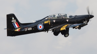 Photo ID 81167 by Alex van Noye. UK Air Force Short Tucano T1, ZF489