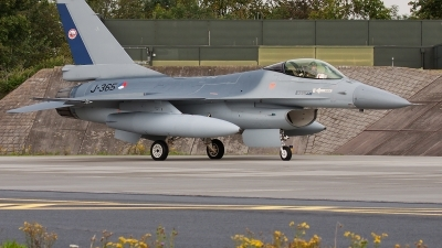 Photo ID 81308 by Alex van Noye. Netherlands Air Force General Dynamics F 16AM Fighting Falcon, J 365