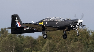 Photo ID 81868 by Niels Roman / VORTEX-images. UK Air Force Short Tucano T1, ZF489