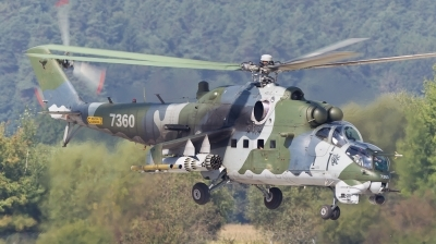 Photo ID 81473 by Andreas Zeitler - Flying-Wings. Czech Republic Air Force Mil Mi 35, 7360
