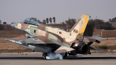 Photo ID 81567 by Nir Ben-Yosef. Israel Air Force Lockheed Martin F 16I Sufa Fighting Falcon, 858