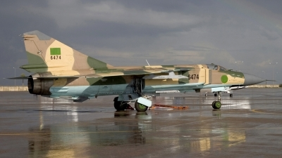 Photo ID 82007 by Chris Lofting. Libya Air Force Mikoyan Gurevich MIG 23MLD, 6474