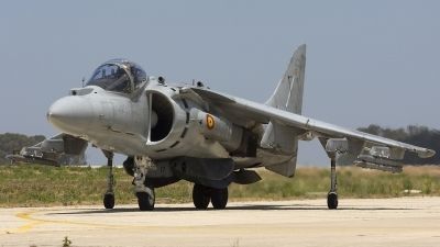 Photo ID 82257 by Chris Lofting. Spain Navy McDonnell Douglas EAV 8B Harrier II Plus, VA 1B 27