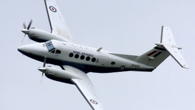 Photo ID 82281 by Rainer Mueller. UK Air Force Beech Super King Air B200, ZK456