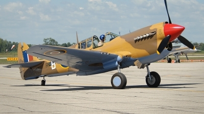 Photo ID 82378 by Rod Dermo. Private Vintage Wings of Canada Curtiss Kittyhawk IV P 40N, C FVWC