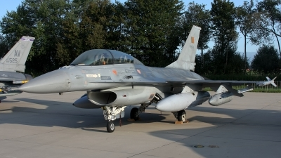 Photo ID 82534 by Rainer Mueller. Belgium Air Force General Dynamics F 16BM Fighting Falcon, FB 22