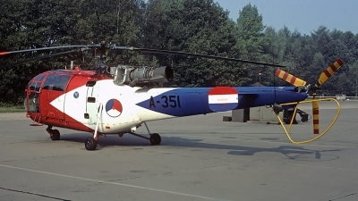 Photo ID 83096 by Carl Brent. Netherlands Air Force Sud Aviation SE 3160 Alouette III, A 351