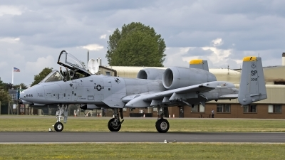 Photo ID 83261 by Niels Roman / VORTEX-images. USA Air Force Fairchild A 10C Thunderbolt II, 82 0646