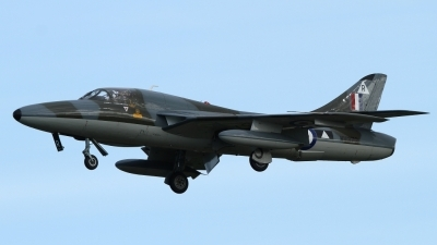 Photo ID 83145 by Peter Emmert. Private Viper Team Hawker Hunter T7, G BXFI