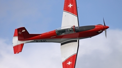 Photo ID 82871 by Andreas Weber. Switzerland Air Force Pilatus NCPC 7 Turbo Trainer, A 941