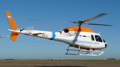 Photo ID 83323 by Martin Kubo. Argentina Coast Guard Eurocopter AS 355NP, PA 81