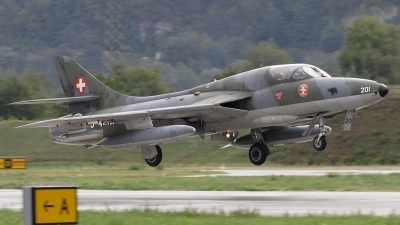 Photo ID 83772 by Tommaso Munforti. Private Private Hawker Hunter T68, HB RVR