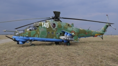 Photo ID 83033 by Peter Terlouw. Bulgaria Air Force Mil Mi 24V, 140